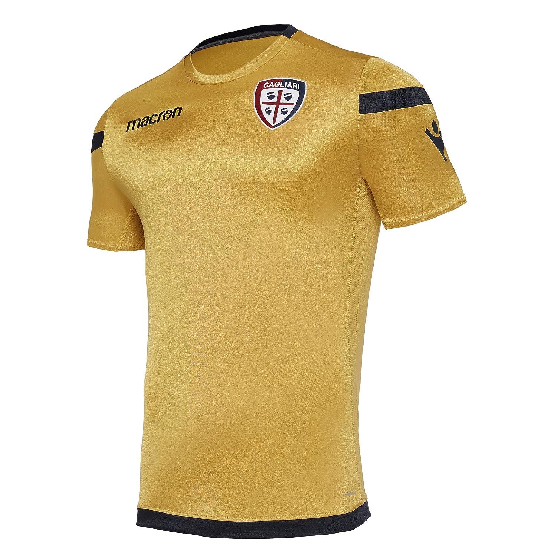 Macron pre-Match Sommer Shirt Cagliari Calcio 2017/18 Senior