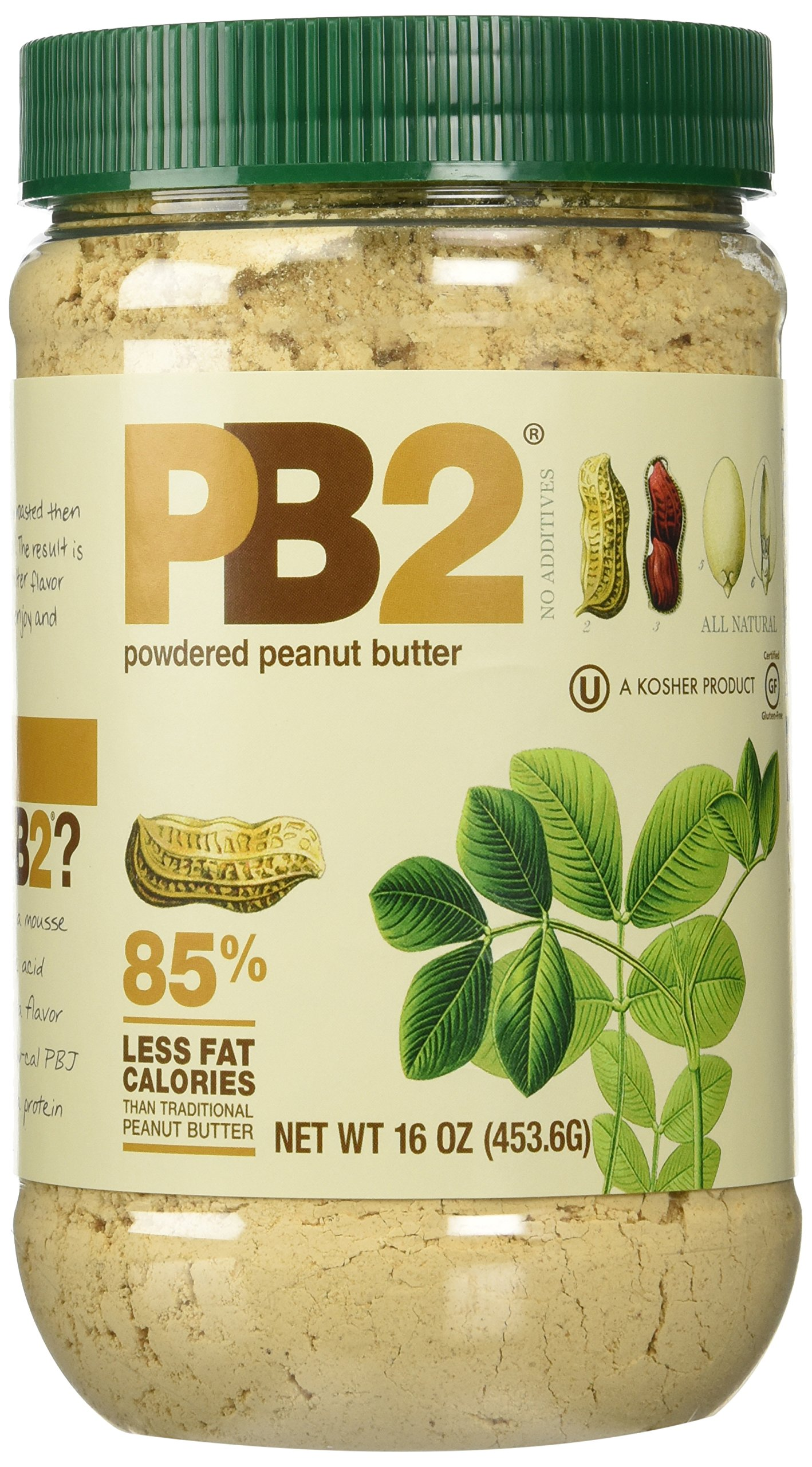 Bell Plantation Pb Chocolate Peanut Butter  Pound Jar