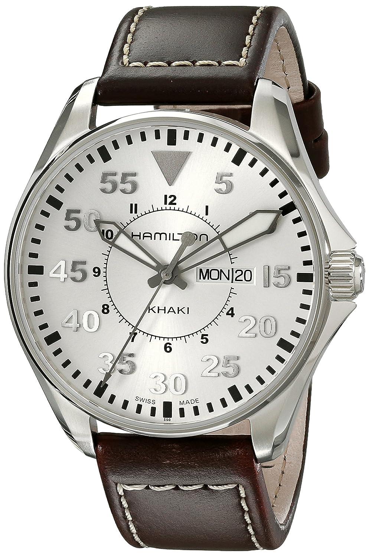 ハミルトン (HAMILTON) 腕時計 Khaki Pilot 42mm H64611555 メンズ [正規輸入品] B0038YY96Q