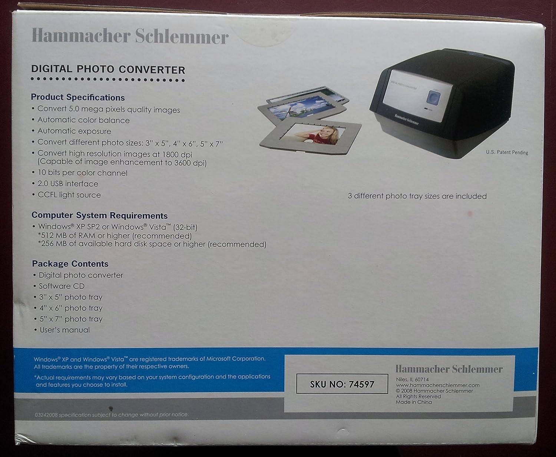 HAMMACHER SCHLEMMER DIGITAL PHOTO CONVERTER WINDOWS 10 DRIVER DOWNLOAD