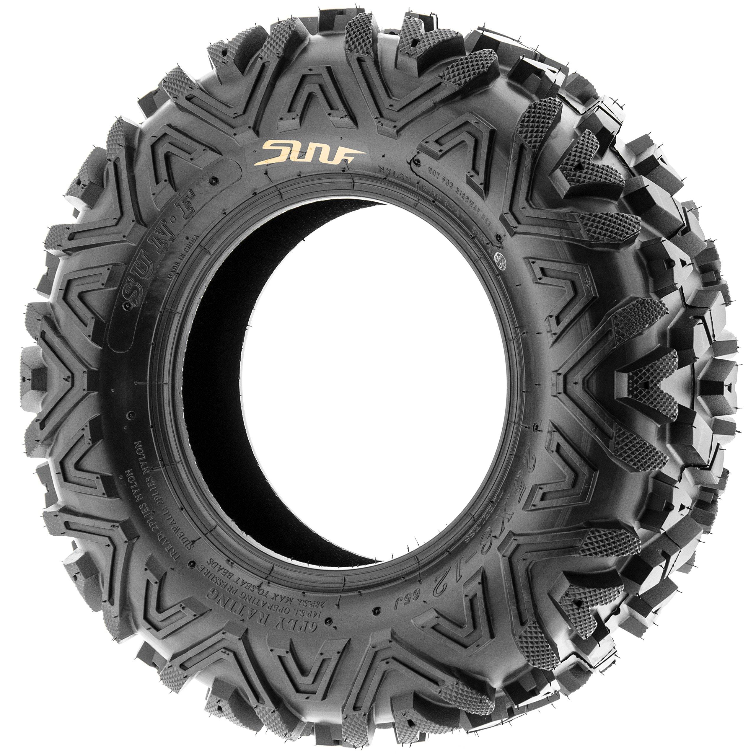 SunF A033 ATV/UTV Tire 28x9-12 Front & 28x11-12 Rear, Set of 4 by SunF (Image #2)