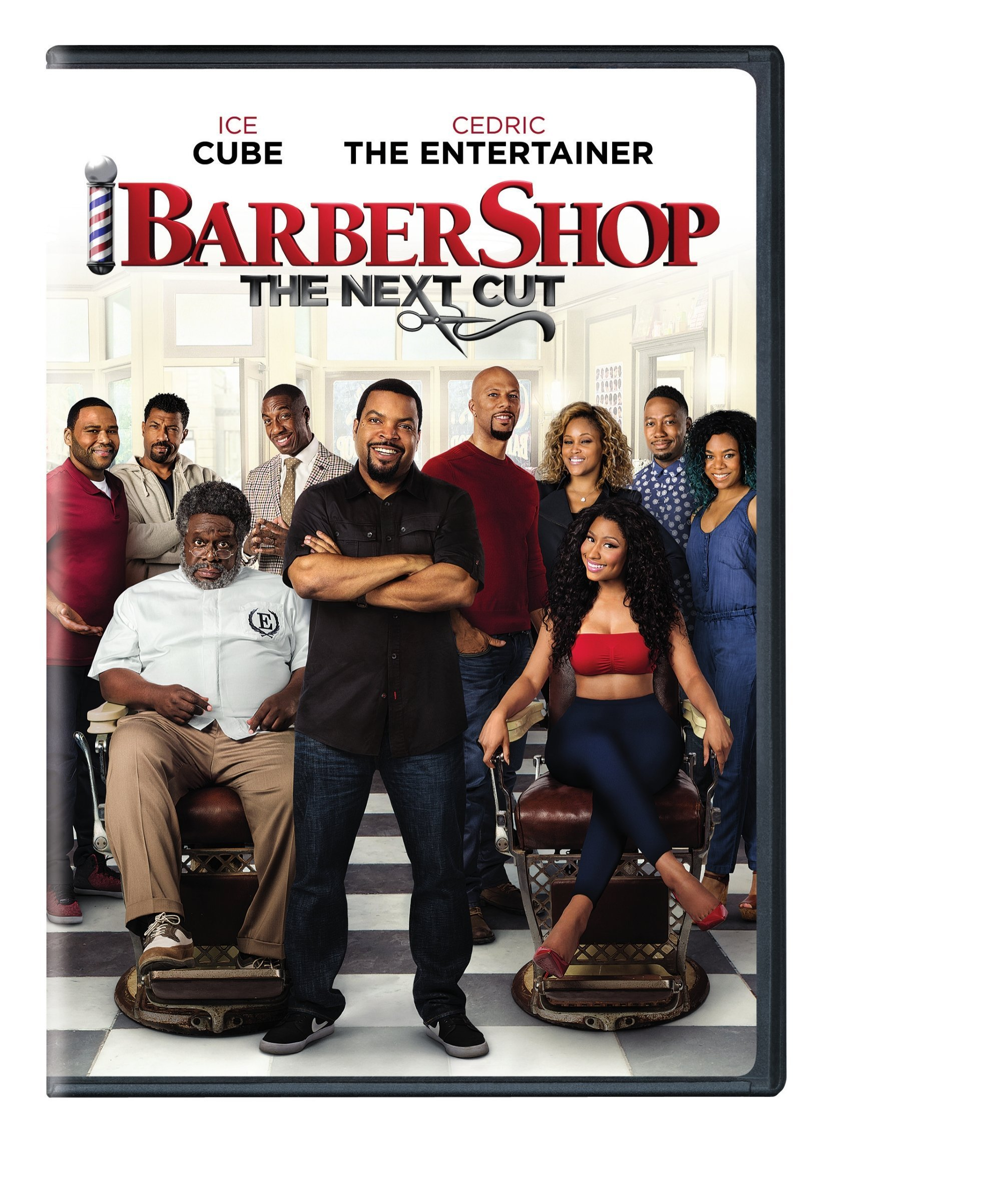 DVD : Barbershop: The Next Cut (Eco Amaray Case)
