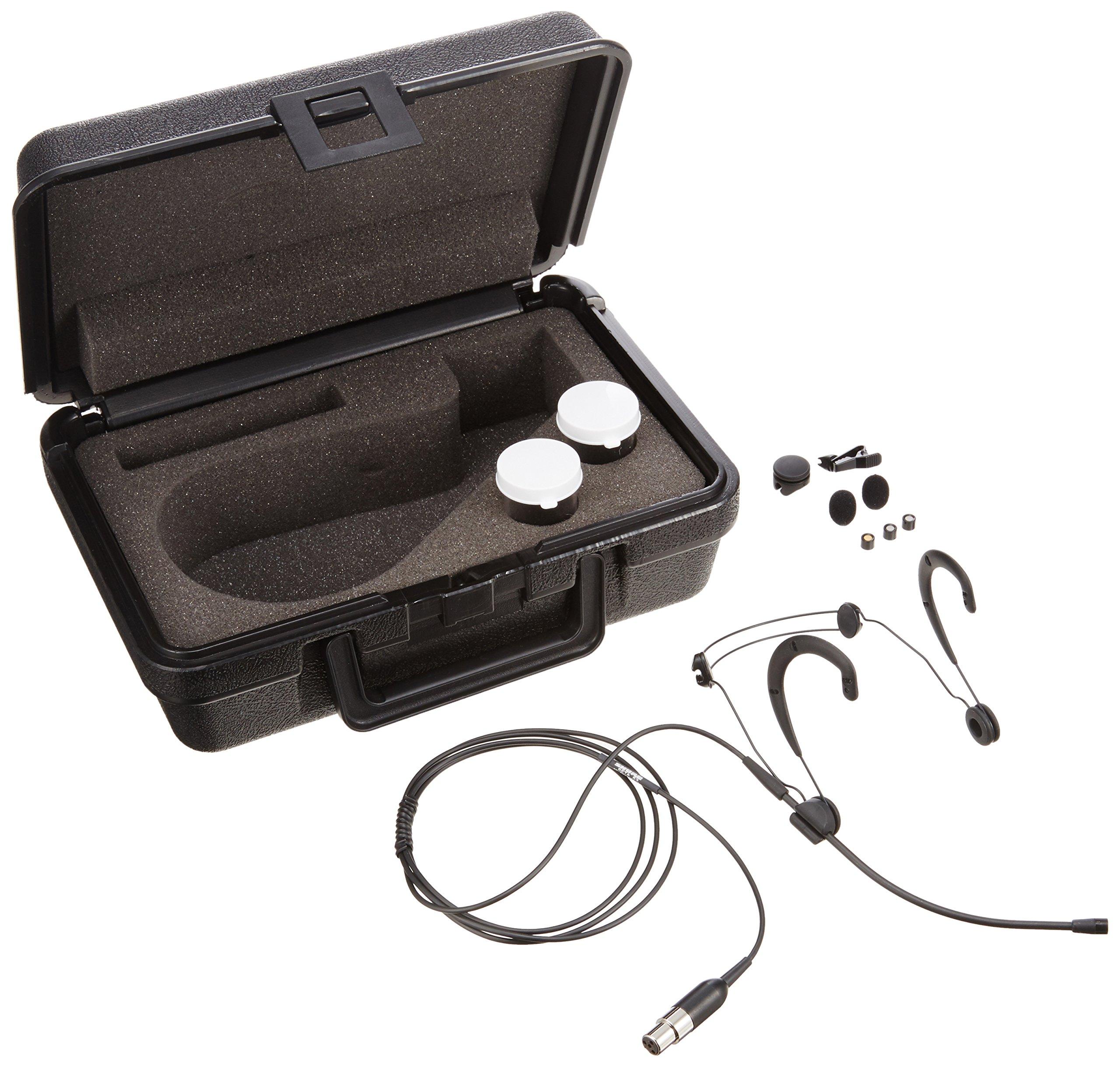 Shure WBH53B Headworn Vocal Microphone for Wireless, Omnidirectional Condenser