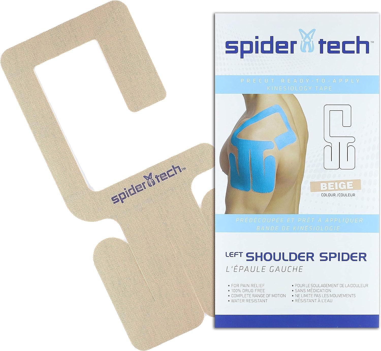 SpiderTech Precut Shoulder Kinesiology Tape