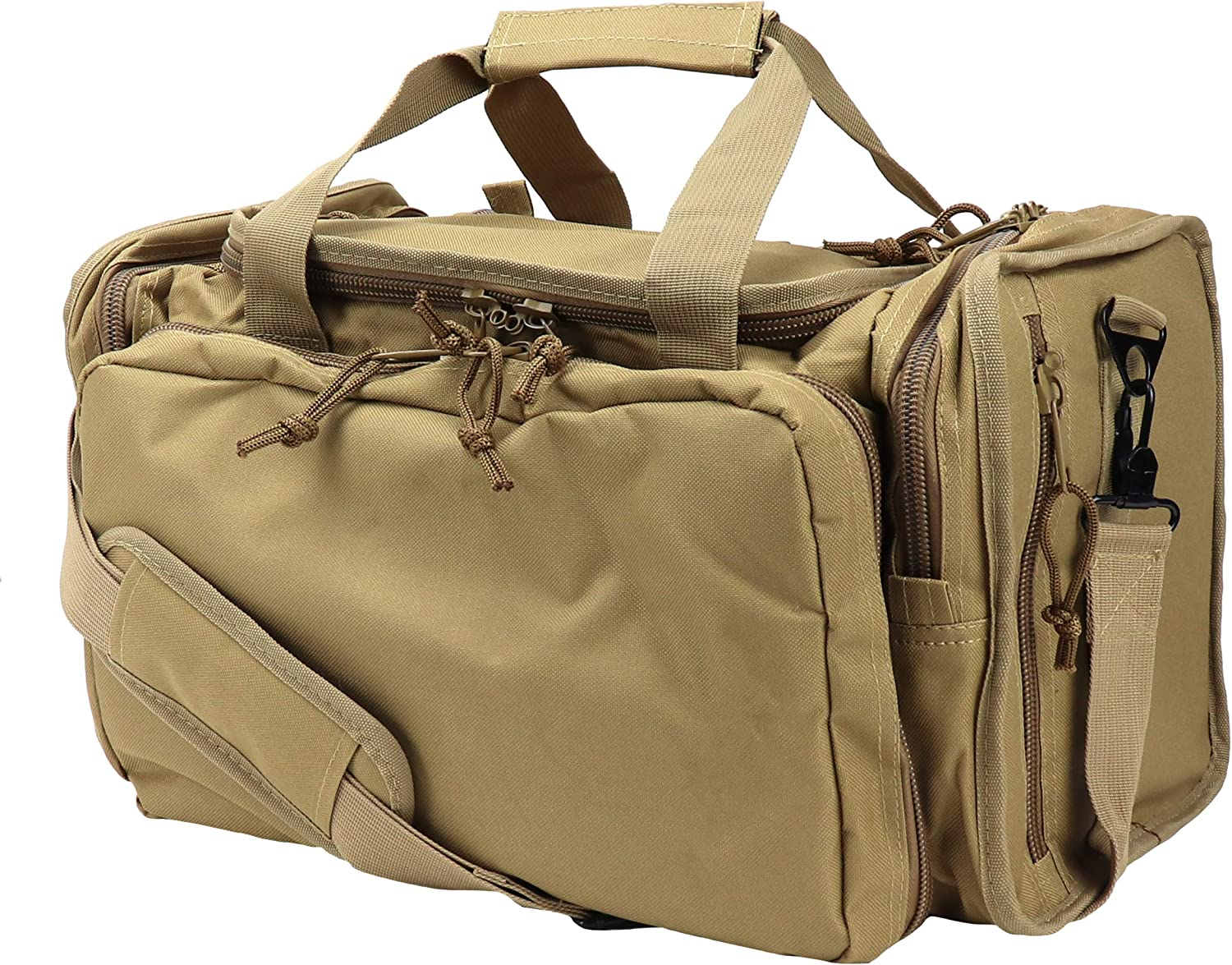 OSAGE RIVER Tactical Range Bag for Handguns and Hunting, Travel Duffel