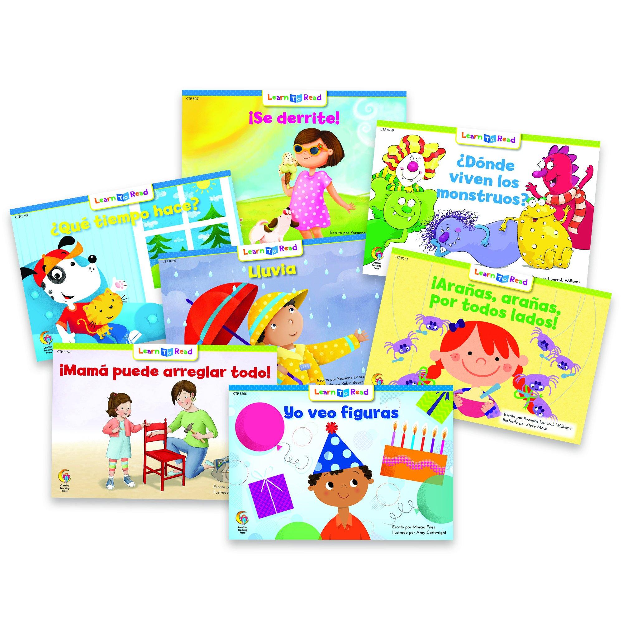 Creative Teaching Press   Spanish Readers Teaching Material  (8241)