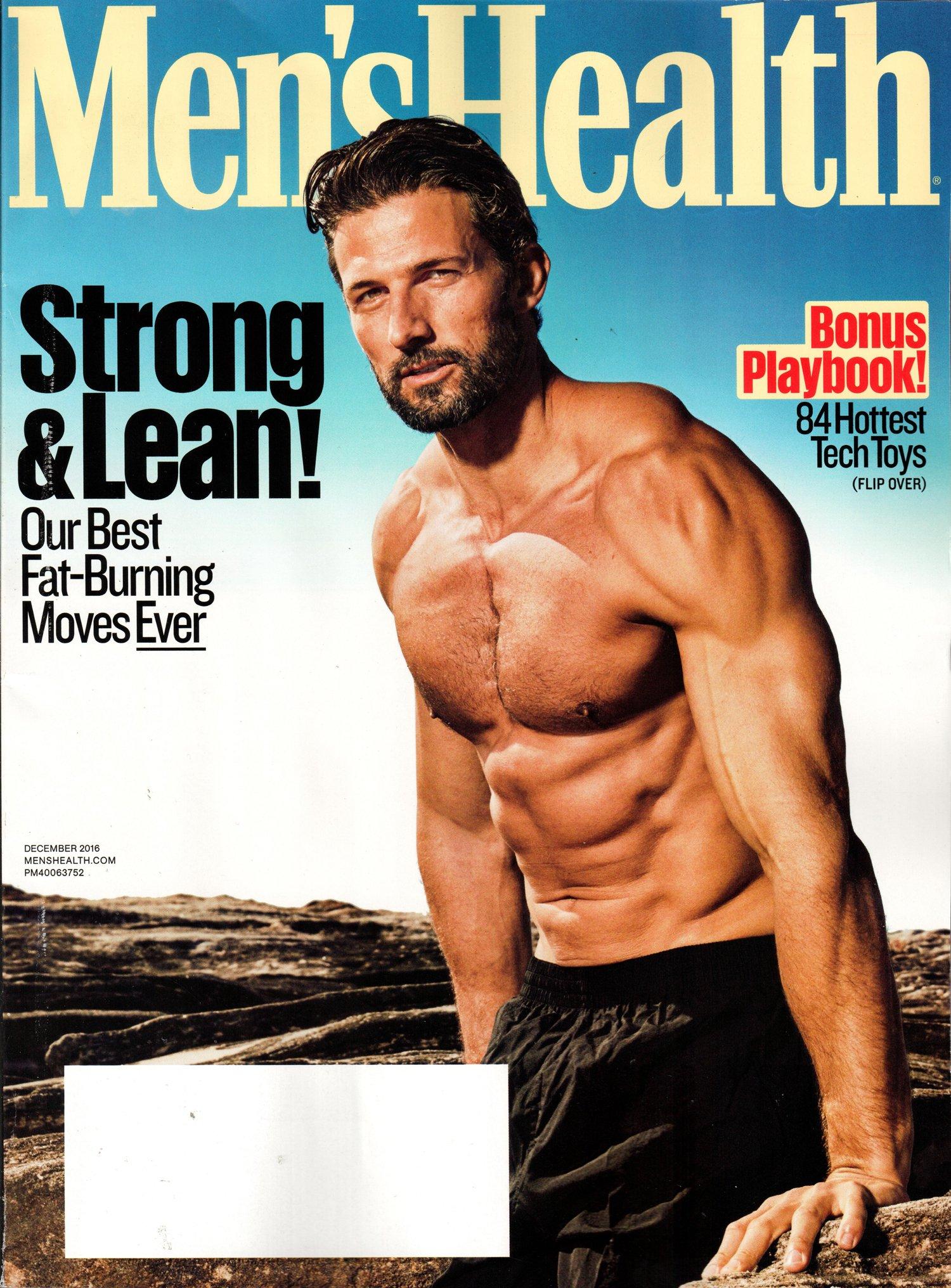 Men s Health Magazine December 2016