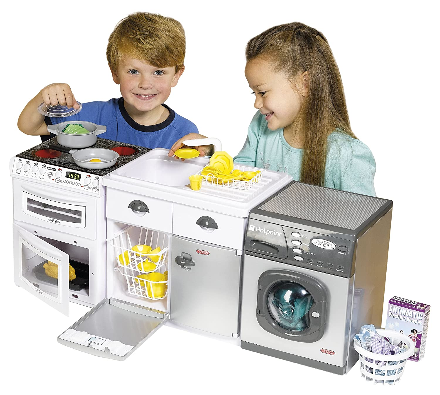 Casdon 477 White Toy Electronic Cooker: Casdon: Amazon.co.uk: Toys ...