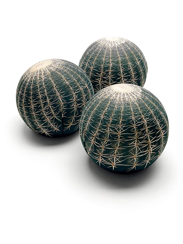 baleri Italia Tatuajes PUF desenfundable, Poliuretano Flexible Espuma en frío Sin CFC, impresión Cactus, única: Amazon.es: Hogar
