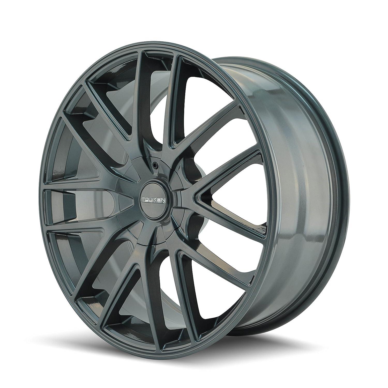 Touren TR60 3260 Wheel with Gunmetal Finish 18x8//5x115mm