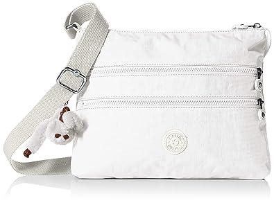 0873289a0c Kipling Women's Alvar Bag, Adjustable Crossbody Strap, Zip Closure,  Alabaster Tonal