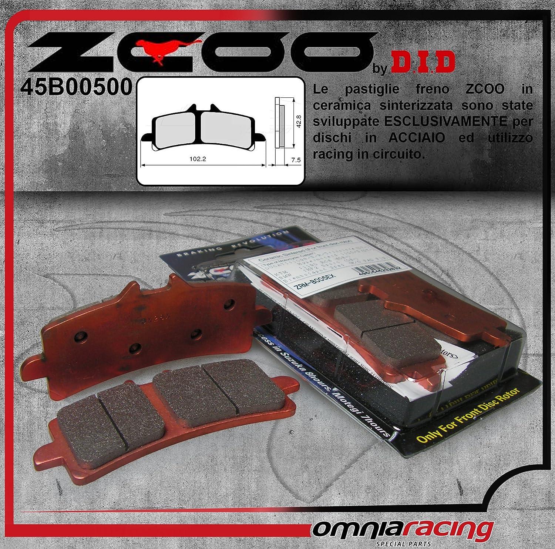 B005 EX 45B00500 PASTIGLIE FRENO ZCOO DUCATI 1199 PANIGALE R 2013-2014 ANTERIORE