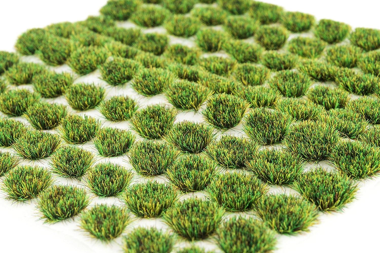 Hierba estacional autoadhesiva de la hierba del verano de WWS x 100 tufts SUM004