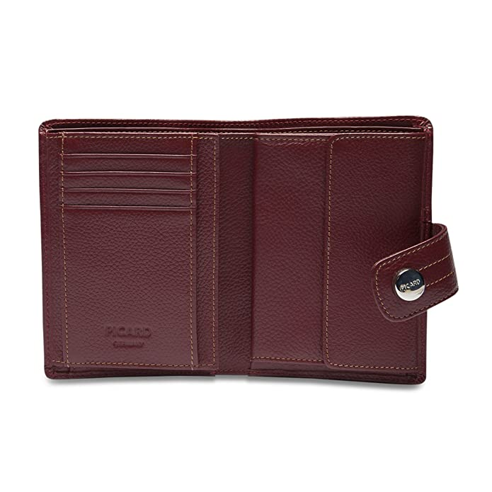PICARD Damen Geldbörse Portemonnaie Melbourne Rot 8706: Amazon.de ...