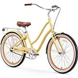 sixthreezero Hybrid-Bicycles sixthreezero EVRYjourney Women's Step-Through Hybrid Cruiser Bicycle