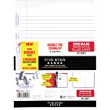 Five Star Filler Paper, Wide Ruled, Reinforced, Loose Leaf Paper, 10.5 x 8-Inches, 100 Sheets/Pack