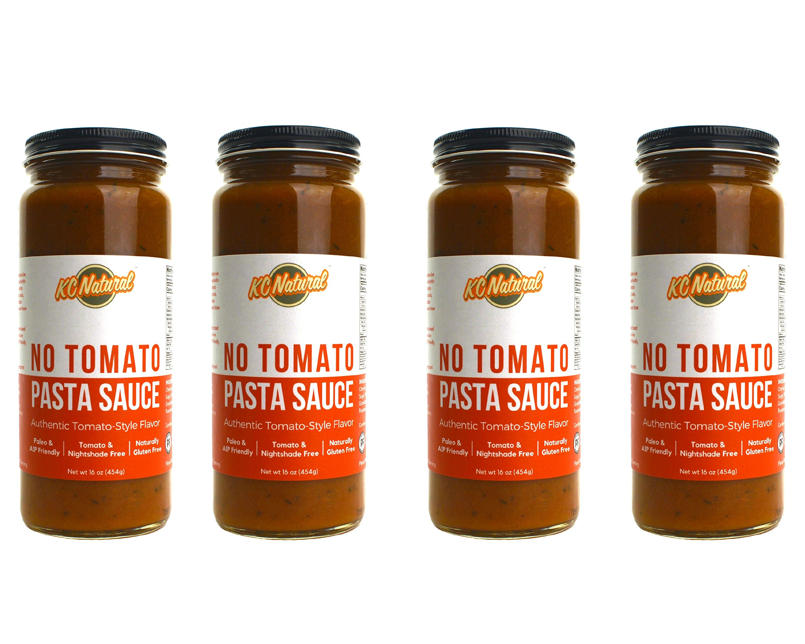 KC Natural No Tomato Pasta Sauce (16oz) - 4-pack