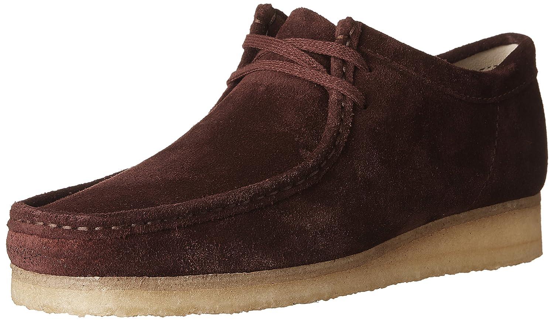 Zapato Clarks Wallabee 45 EU|Burg Suede Zapatos de moda en línea Obtenga el mejor descuento de venta caliente-Descuento más grande