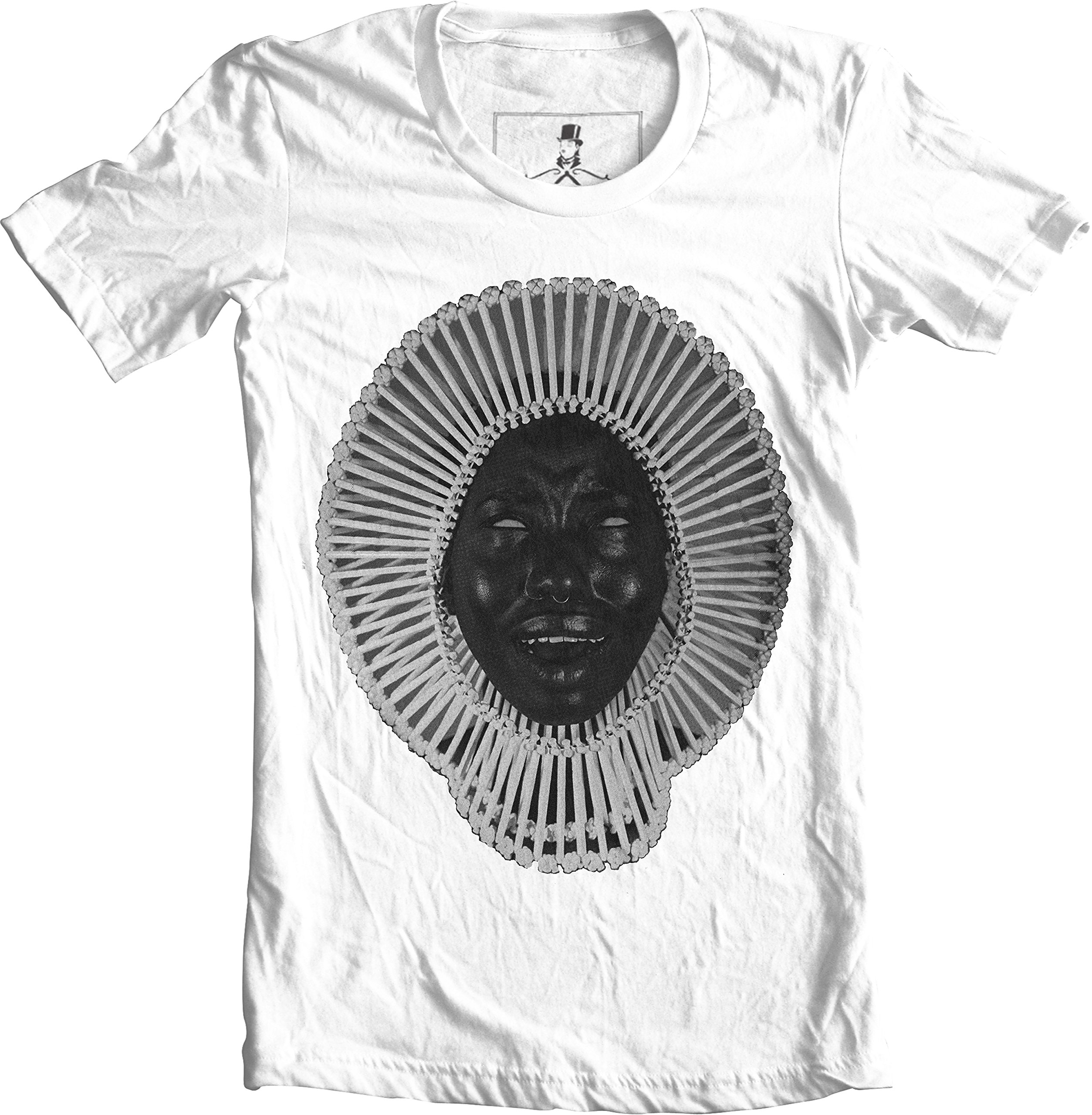 Awaken My Love Childish Gambino Hip Hop Unisex T-Shirt (Medium, White)