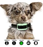 Bark Collar Small Dog that uses Beep and Gentle Vibration. This Small Dog Bark Collar is also Rechargeable. Looking for Barking Collars for Small Dogs that are Pain Free? You Have Found Them.