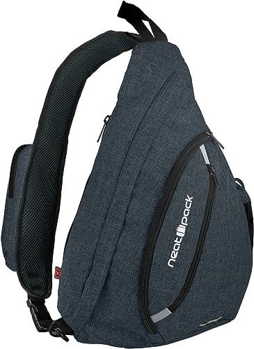 Versatile Canvas Sling Bag Urban Travel Backpack