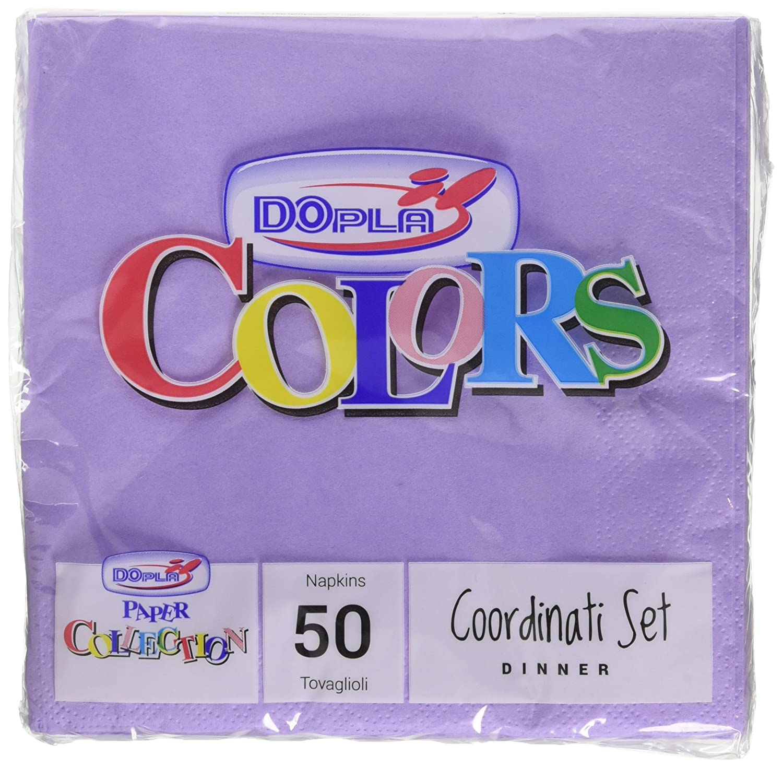 Colors - Tovaglioli, 2 veli, 33x33cm - 50 pezzi Dopla B2_0156968