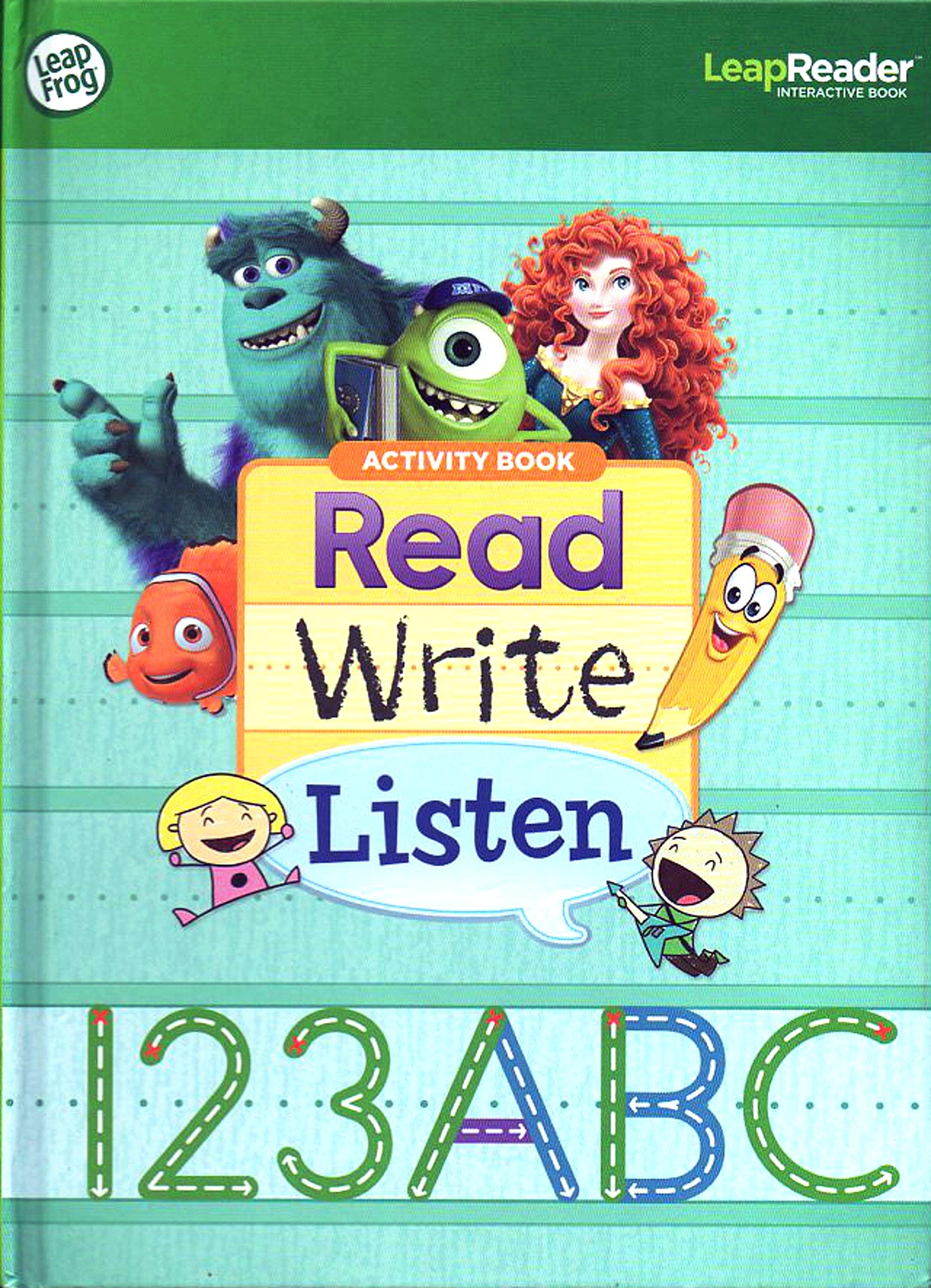 LeapFrog Tag Pen LeapReader book — LET'S PLAY TAG! Sampler Version 1