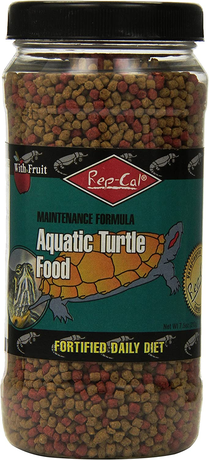 Rep-Cal SRP00809 Aquatic Turtle Food, 7.5-Ounce