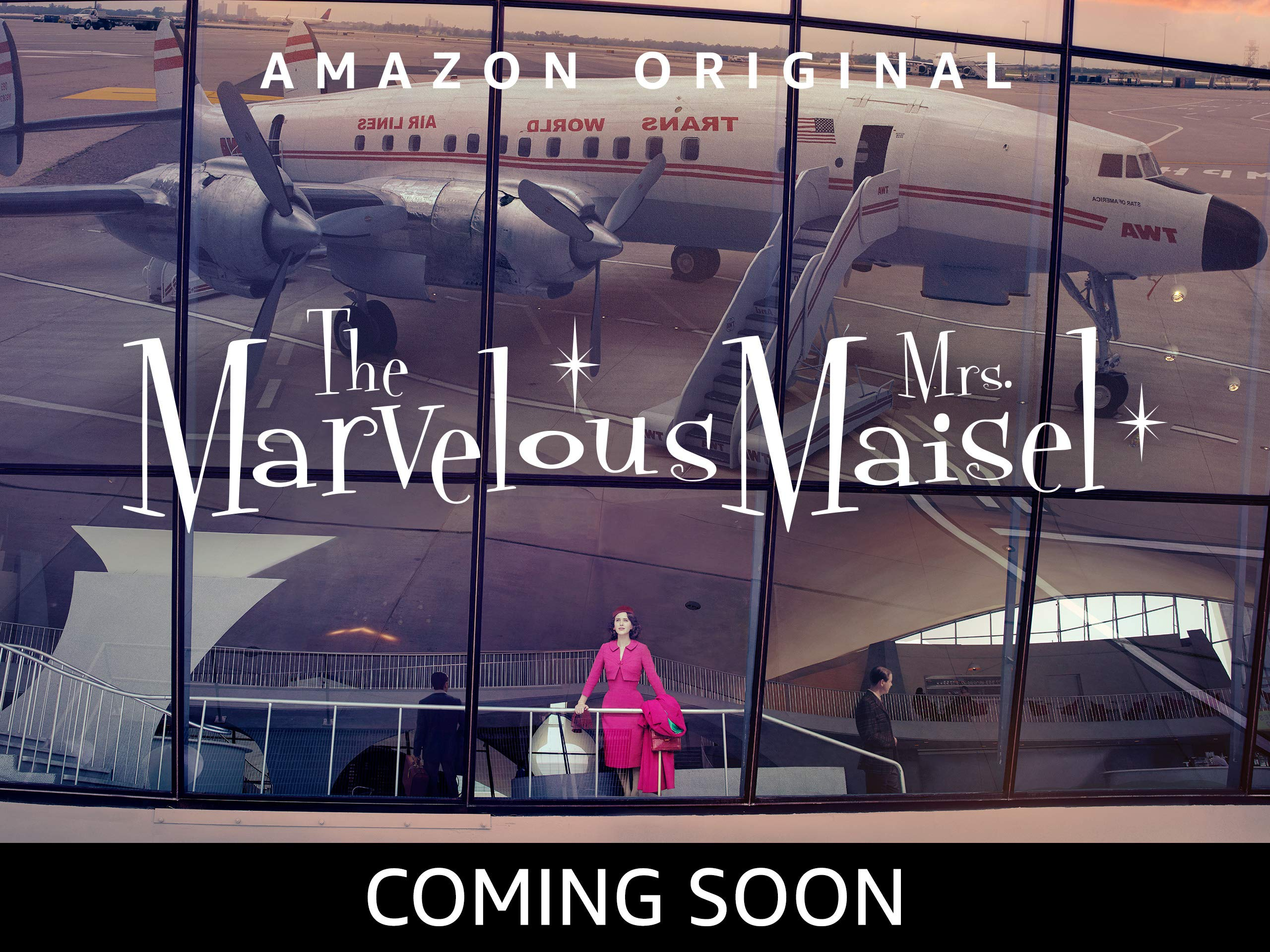 The Marvelous Mrs Maiself is coming soon to Prime