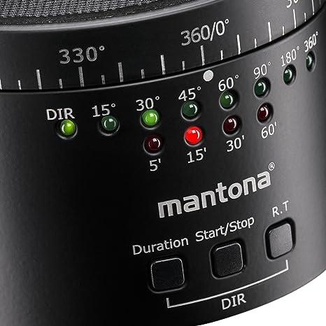 Mantona turnaround 360 Automatic rev.2 Panorama elettrica testa treppiede con batteria