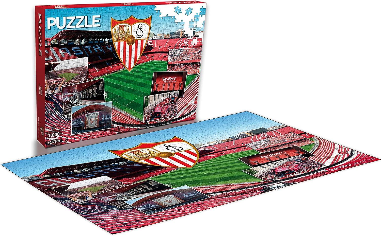 Sevilla FC Puzzle 1000 Piezas (11909), Multicolor: Amazon.es: Juguetes y juegos