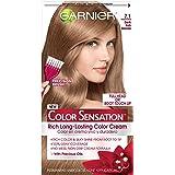 Garnier Hair Color Sensation Rich Long-Lasting Color Cream, 7.1 Dark Ash Blonde