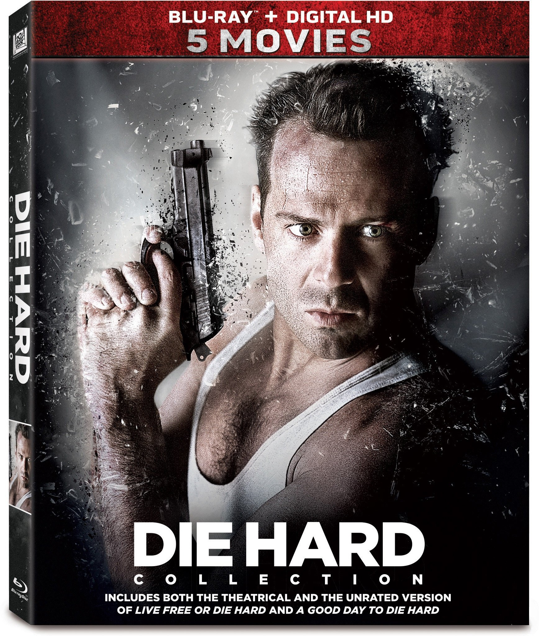 Blu-ray : Die Hard: 5-Movie Collection (Boxed Set, 5 Disc)