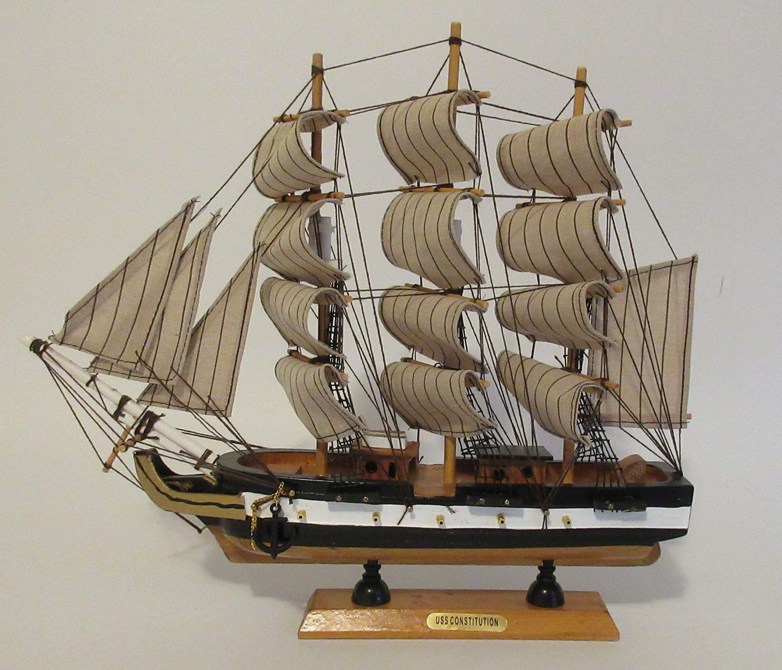 GSM USS CONSTITUTION Ship Model ~ Fully Assembled