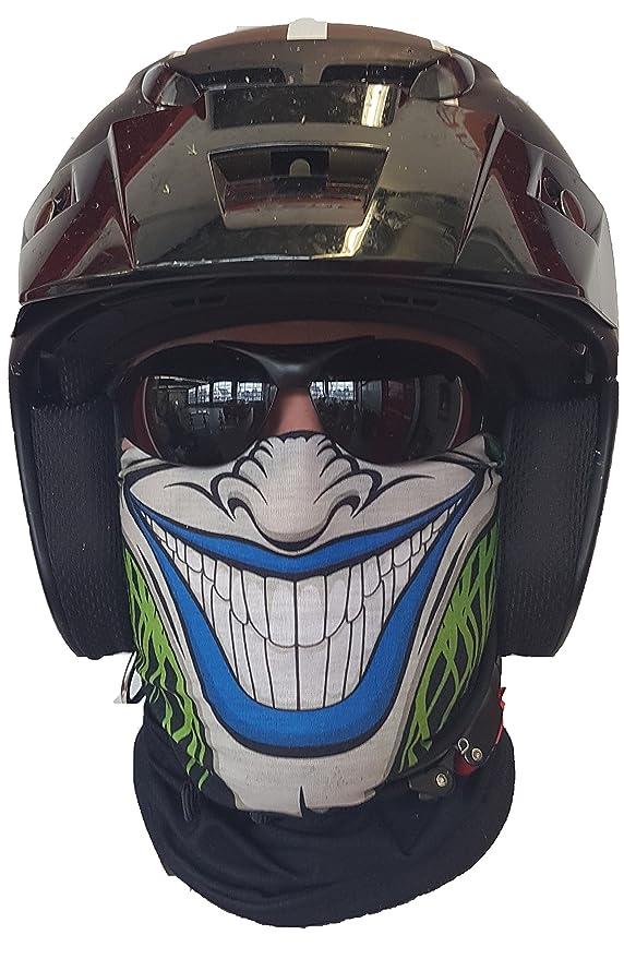 Salt Armour svoki Two Sided Cuello Toalla Manguera - Máscara Protección contra el frío Doble Cara máscara Halloween Esquí Snowboard Pesca Caza Bicicleta y ...