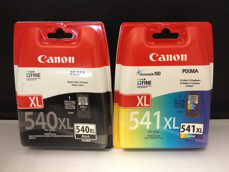 2 impresora Original para Canon Pixma MX MX535 535 (Negro Color ...