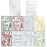 Martha Stewart 30068356 Laser Cut Christmas Icons