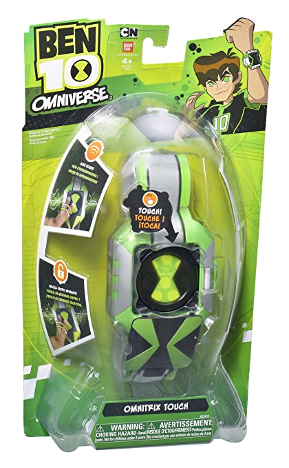 Amazon.com: Bandai Ben 10 Omniverse – Omnitrix táctil: Toys ...