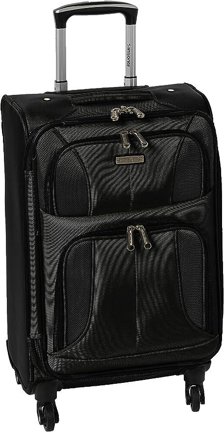 20//29 with Spinner Wheels Black Samsonite Aspire xLite Expandable Softside 2-Piece Luggage Set