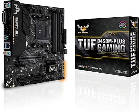 Board Asus Tuf B450M Plus Gaming Ii Cross A V R 4Dr4 Ryz