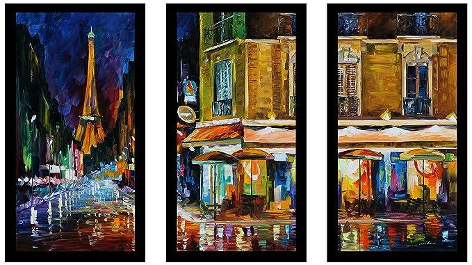 iCanvasART 3 Piece Modern Art Zebra Print Canvas Print by Fabrizio 60 by 40//1.5 Deep