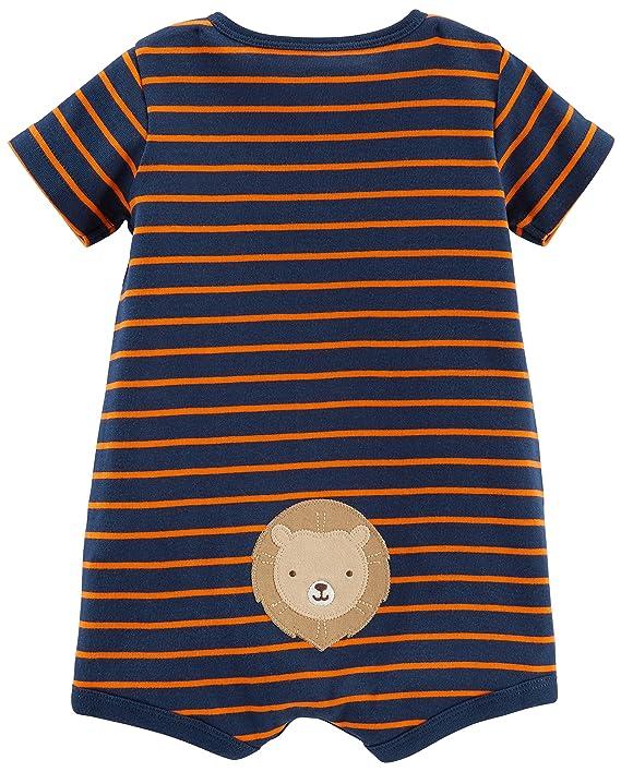 Whale Simple Joys by Carters Pelele de beb/é 3 unidades 12 Meses ,Stripe Tiger