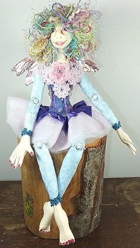 OOAK Doll Cloth Doll Annika the Dragon Series Art Doll Collector Doll Handmade Doll