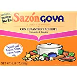 Goya Sazon Jumbo Pack, 6.33-Ounce Packages (Pack of 3)