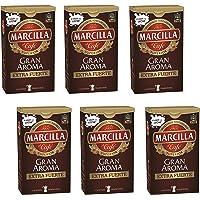Marcilla Café molido Gran Aroma Extra Fuerte - 6 paquetes de 250 gr