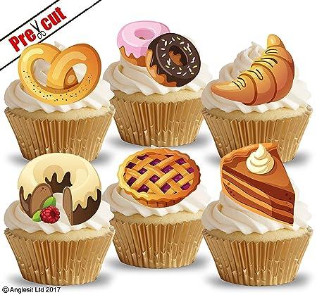 Precortado repostería Cupcake pastel postre decoraciones ...