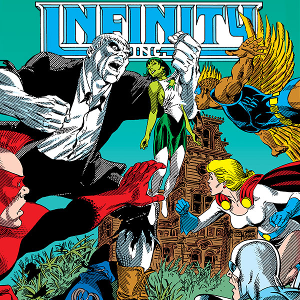 Infinity Inc. (1984-1988) (Issues) (25 Book Series)