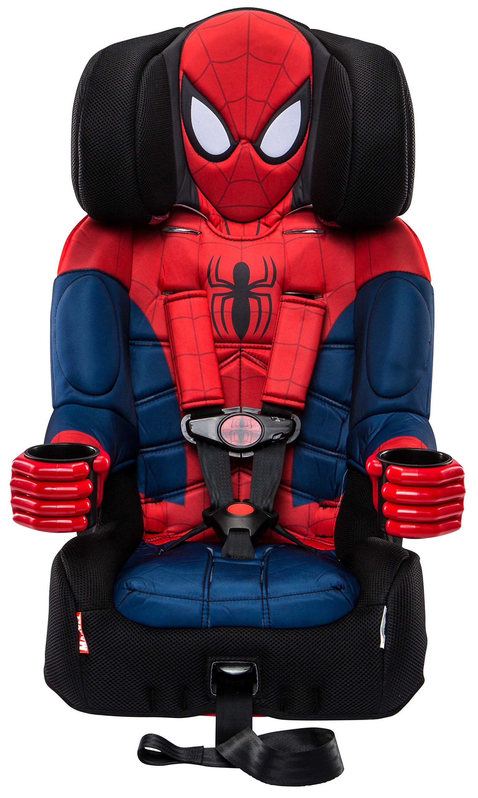 KidsEmbrace Combination Toddler Harness Booster Car Seat, Marvel's Ultimate Spider-Man