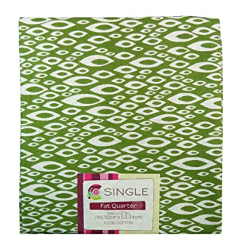 Amazon.com: Creative Cuts Single Fat Quarter Quilting Fabric, 18