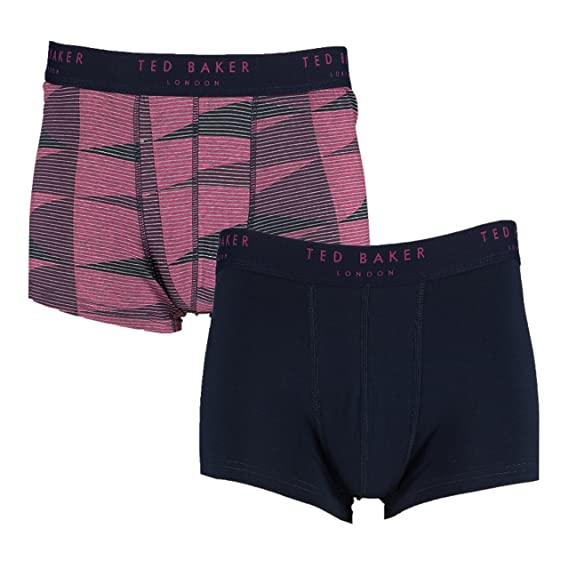 dfb6ce3b6 Image Unavailable. Image not available for. Colour  Ted Baker London Blue  Plain Pink Stripes ...